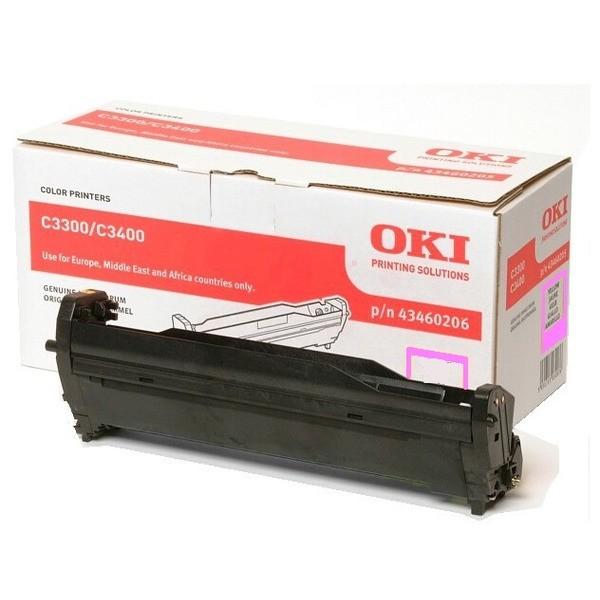 Original OKI 43460206 / TYPE C9 Drum Kit magenta 15.000 Seiten