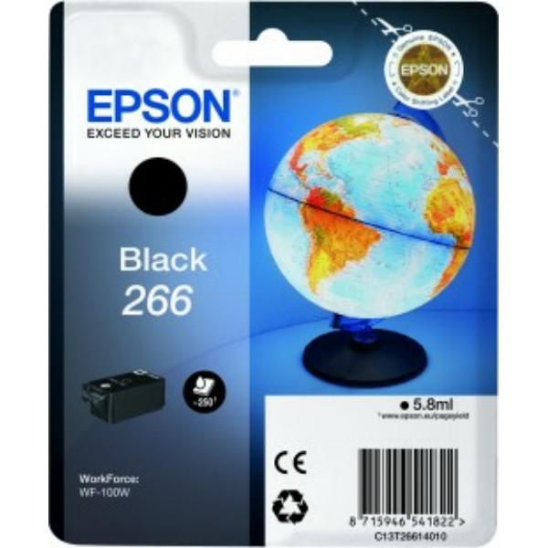 Original Epson C13T26614010 / 266 Tintenpatrone schwarz 5,8 ml 260 Seiten