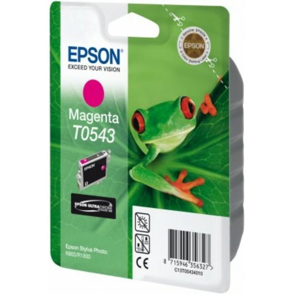 Original Epson C13T05434010 / T0543 Tintenpatrone magenta 13 ml 400 Seiten