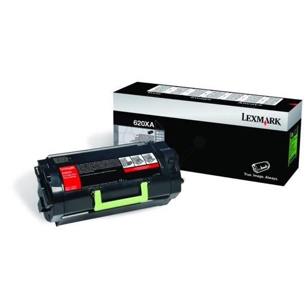 Original Lexmark 62D0XA0 / 620XA Toner-Kit schwarz 45.000 Seiten