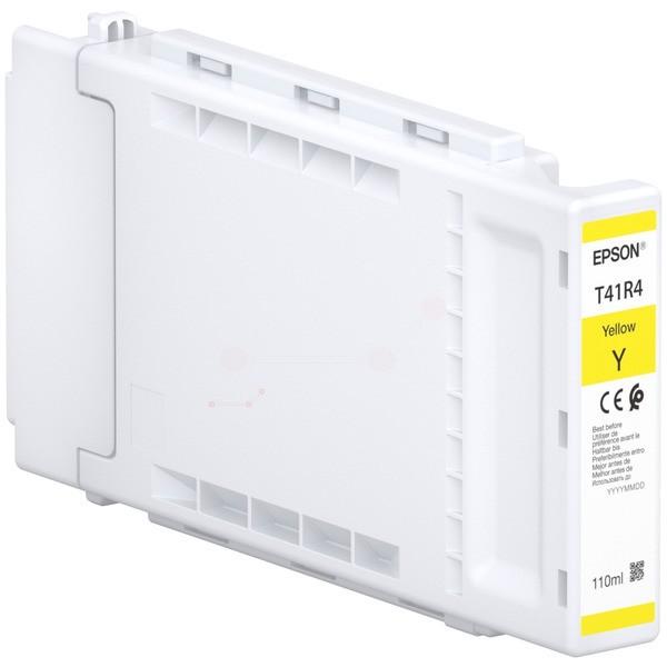 Original Epson C13T41R440 / T41R4 Tintenpatrone gelb 110 ml