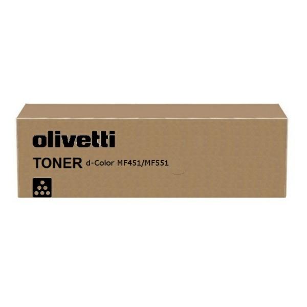 Original Olivetti B0818 Toner-Kit schwarz 45.000 Seiten