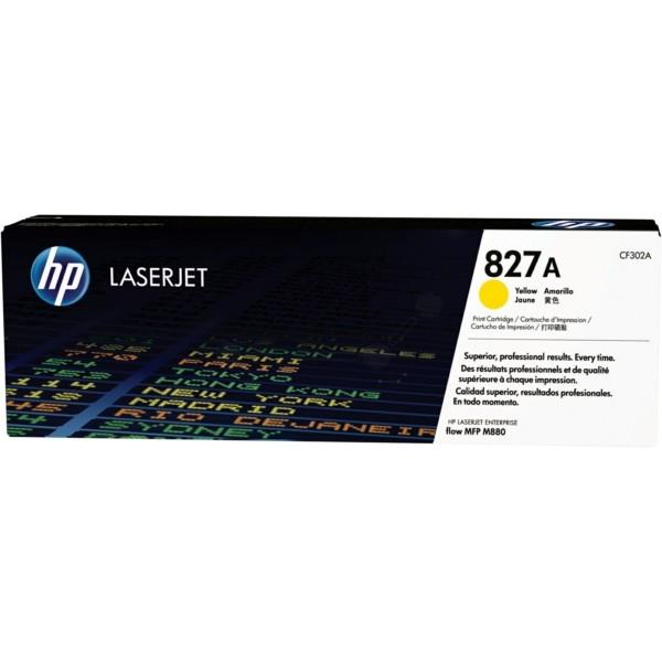 Original HP CF302A / 827A Toner gelb 32.000 Seiten