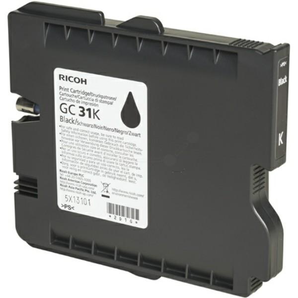 Original Ricoh 405688 / GC-31 K Gelkartusche schwarz 28 ml 1.920 Seiten