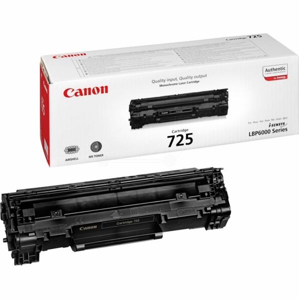 Original Canon 3484B002 / 725 Tonerkartusche schwarz 1.600 Seiten