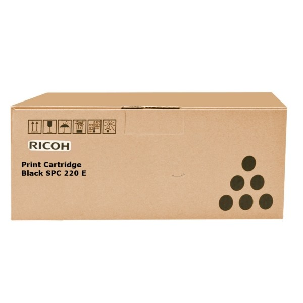 Original Ricoh 406094 / TYPE SPC 220 E Toner schwarz 2.300 Seiten