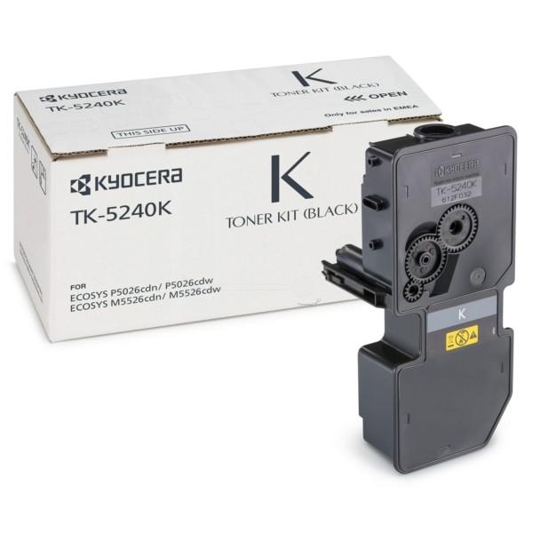 Original Kyocera 1T02R70NL0 / TK-5240 K Toner-Kit schwarz 4.000 Seiten
