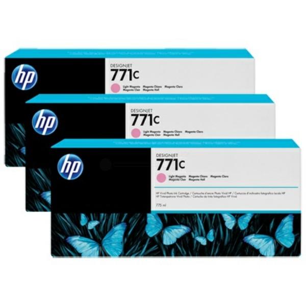 Original HP B6Y35A / 771C Tintenpatrone magenta hell 775 ml