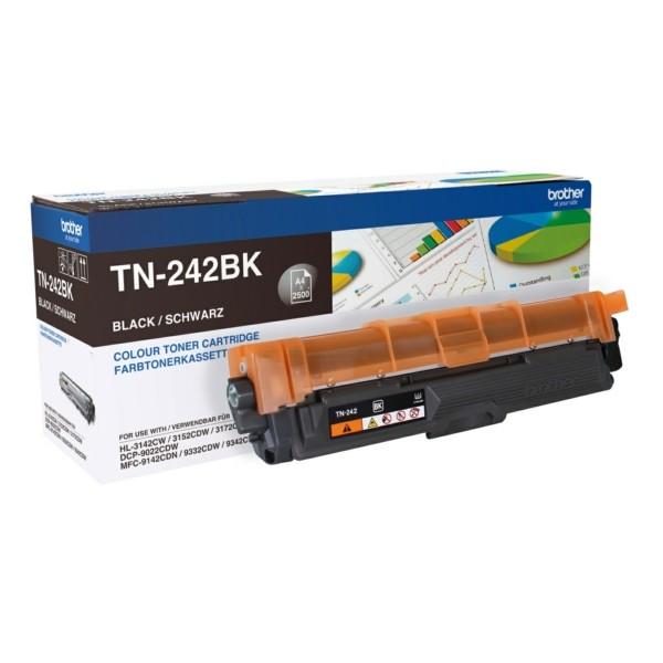 Original Brother TN242BK Toner-Kit schwarz 2.500 Seiten