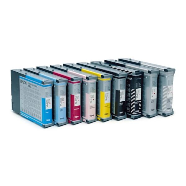 Original Epson C13T543500 / T5435 Tintenpatrone cyan hell 110 ml