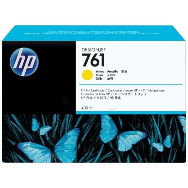 Original HP CM992A / 761 Tintenpatrone gelb 400 ml