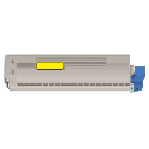 Original OKI 45862814 Toner-Kit gelb 10.000 Seiten