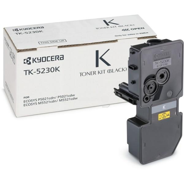 Original Kyocera 1T02R90NL0 / TK-5230 K Toner-Kit schwarz 2.600 Seiten