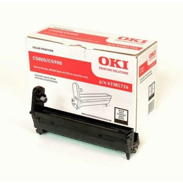 Original OKI 43381724 Drum Kit schwarz 20.000 Seiten
