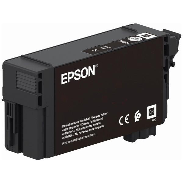 Original Epson C13T40C140 / T40 Tintenpatrone schwarz 50 ml