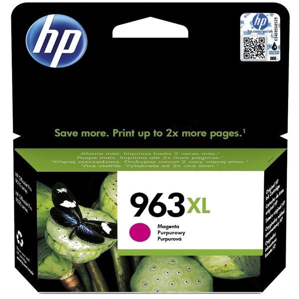 Original HP 3JA28AE / 963XL Tintenpatrone magenta 23,25 ml 1.600 Seiten