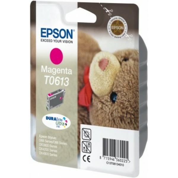 Original Epson C13T06134010 / T0613 Tintenpatrone magenta 8 ml 250 Seiten