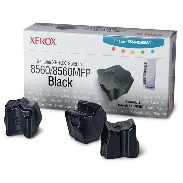 Original Xerox 108R00726 Festtinte in Color-Stix schwarz 3.400 Seiten