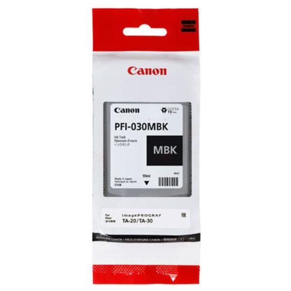 Original Canon 3488C001 / PFI-030 MBK Tintenpatrone schwarz matt 55 ml