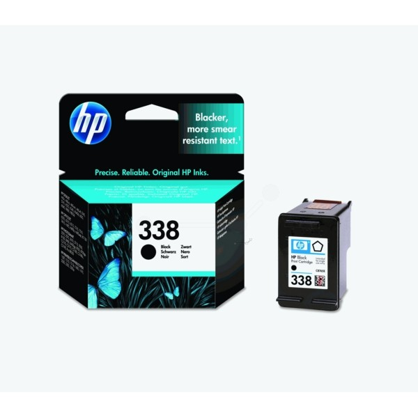 Original HP C8765EE / 338 Druckkopfpatrone schwarz 11 ml 450 Seiten