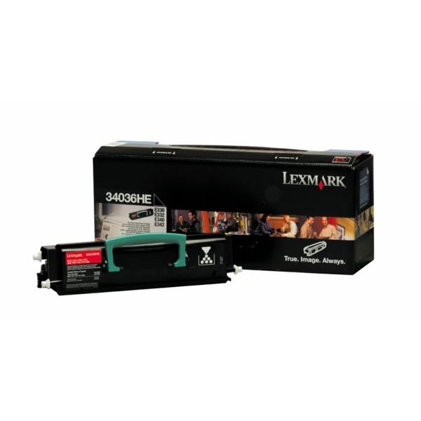 Original Lexmark 34036HE Toner-Kit 6.000 Seiten