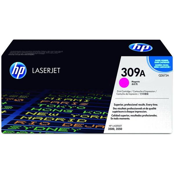 Original HP Q2673A / 309A Tonerkartusche magenta 4.000 Seiten