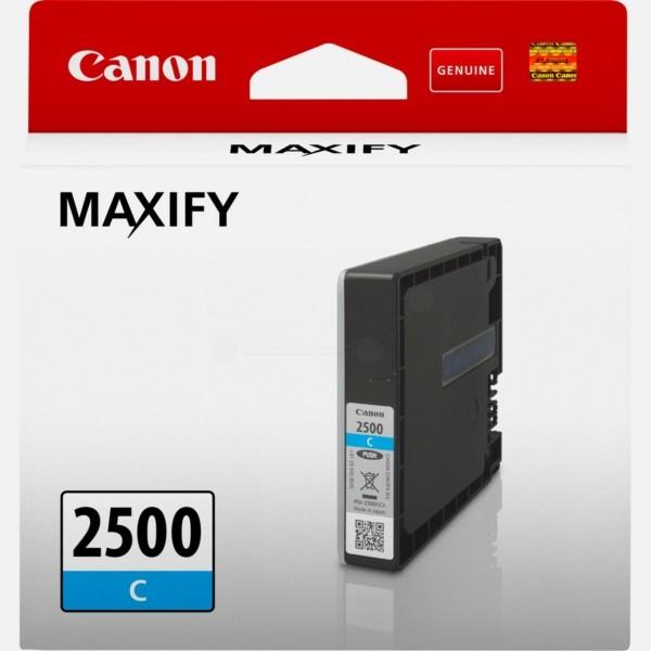 Original Canon 9301B001 / PGI-2500 C Tintenpatrone cyan 9,6 ml 700 Seiten