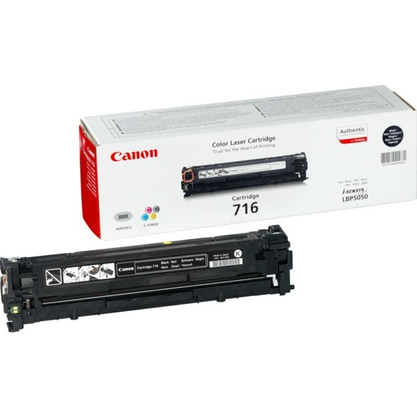 Original Canon 1980B002 / 716BK Tonerkartusche schwarz 2.300 Seiten