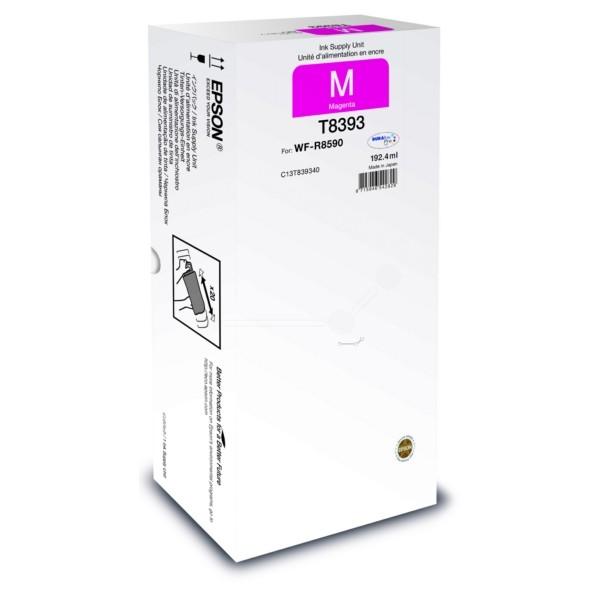 Original Epson C13T839340 / T8393 Tintenpatrone magenta 192,4 ml