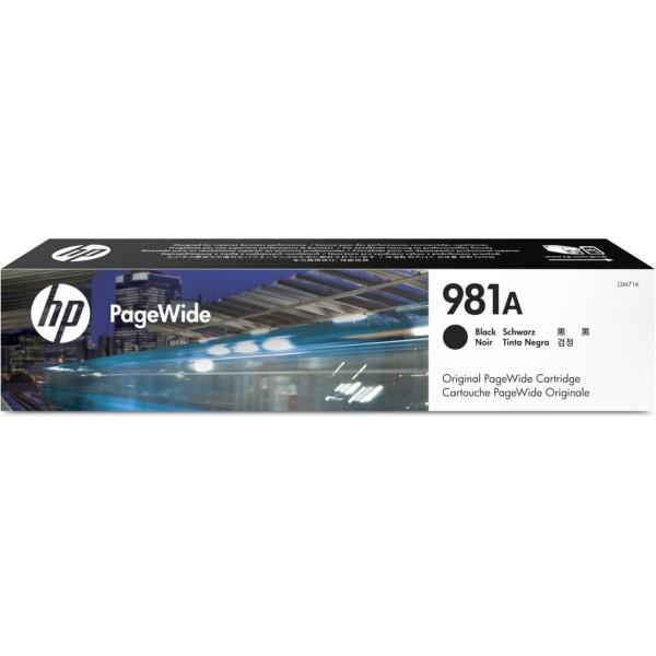 Original HP J3M71A / 981A Tintenpatrone schwarz 106 ml 6.000 Seiten