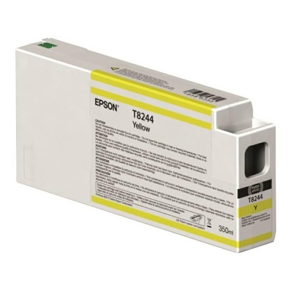 Original Epson C13T824400 / T8244 Tintenpatrone gelb 350 ml