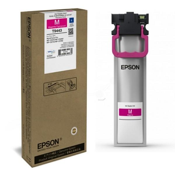 Original Epson C13T944340 / T9443 Tintenpatrone magenta 19,9 ml 3.000 Seiten