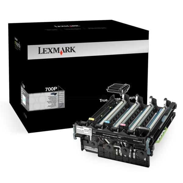 Original Lexmark 70C0P00 / 700P Drum Unit 40.000 Seiten