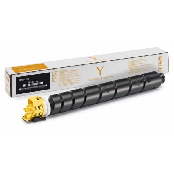 Original Kyocera 1T02NDANL1 / TK-8515 Y Toner-Kit gelb 20.000 Seiten