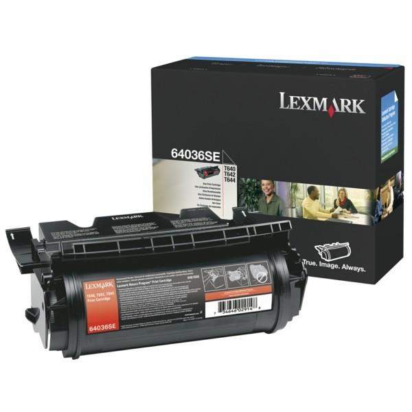 Original Lexmark 64036SE Tonerkartusche schwarz 6.000 Seiten