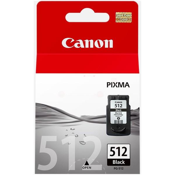 Original Canon 2969B001 / PG-512 Druckkopfpatrone schwarz pigmentiert 15 ml 401 Seiten