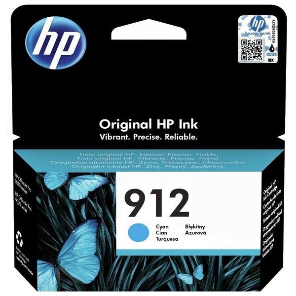 Original HP 3YL77AE / 912 Tintenpatrone cyan 2,93 ml 315 Seiten