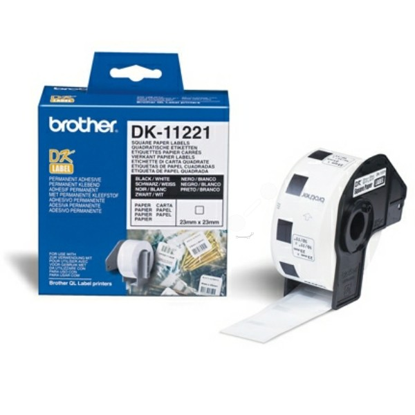 Original Brother DK11221 DirectLabel Etiketten 1000