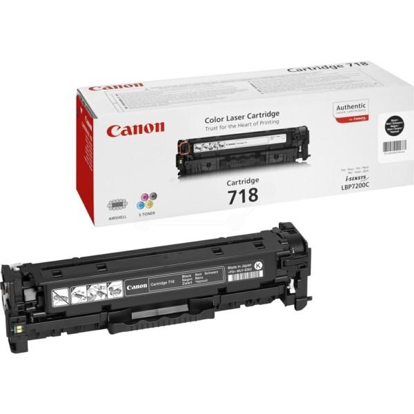 Original Canon 2662B002 / 718BK Tonerkartusche schwarz 3.400 Seiten