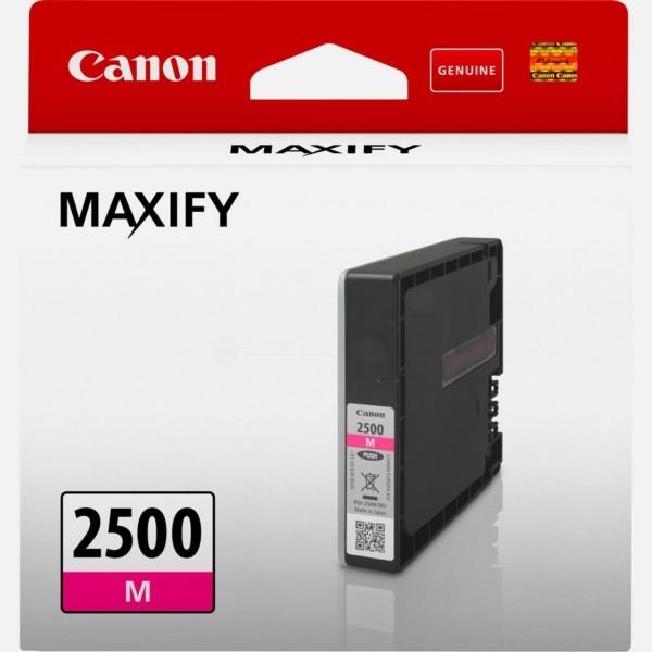 Original Canon 9302B001 / PGI-2500 M Tintenpatrone magenta 9,6 ml 700 Seiten