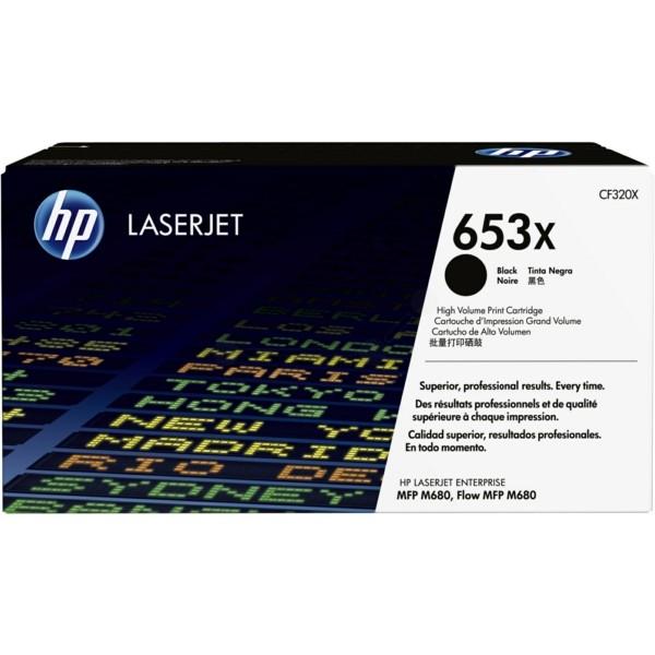 Original HP CF320X / 653X Tonerkartusche schwarz 21.000 Seiten