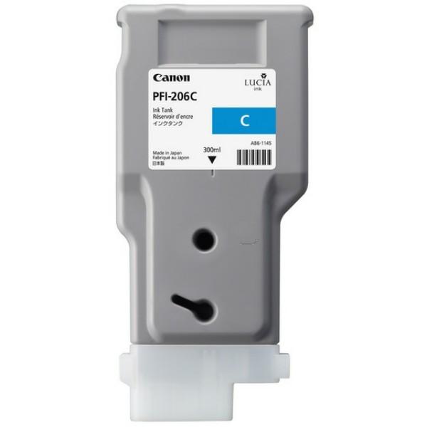Original Canon 5304B001 / PFI-206 C Tintenpatrone cyan 300 ml