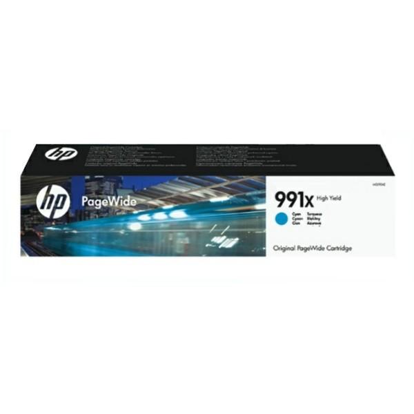 Original HP M0J90AE / 991X Druckkopfpatrone cyan 16.000 Seiten