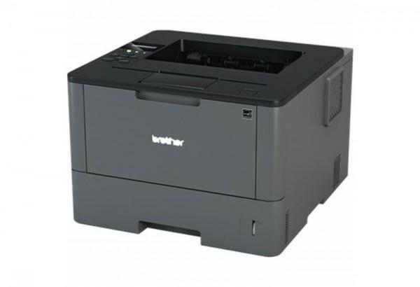 BROTHER HL-L5100DN A4 monochrom USB Laserdrucker 40ppm 250 Blatt + 50 Blatt MF Papierzufuhr Duplex