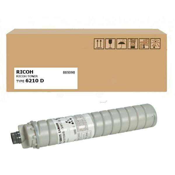 Original Ricoh 885098 / TYPE 6210 D Toner schwarz 43.000 Seiten