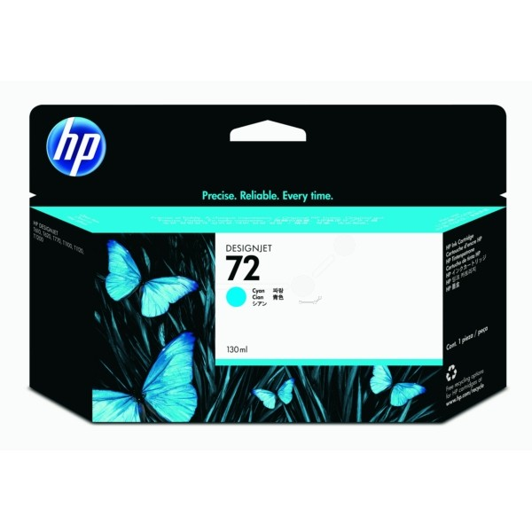 Original HP C9371A / 72 Tintenpatrone cyan 130 ml