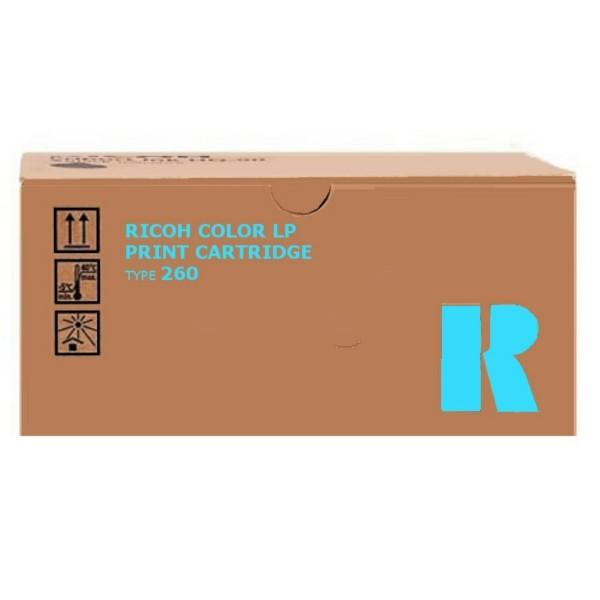 Original Ricoh 888449 / TYPE 260 Toner cyan 10.000 Seiten