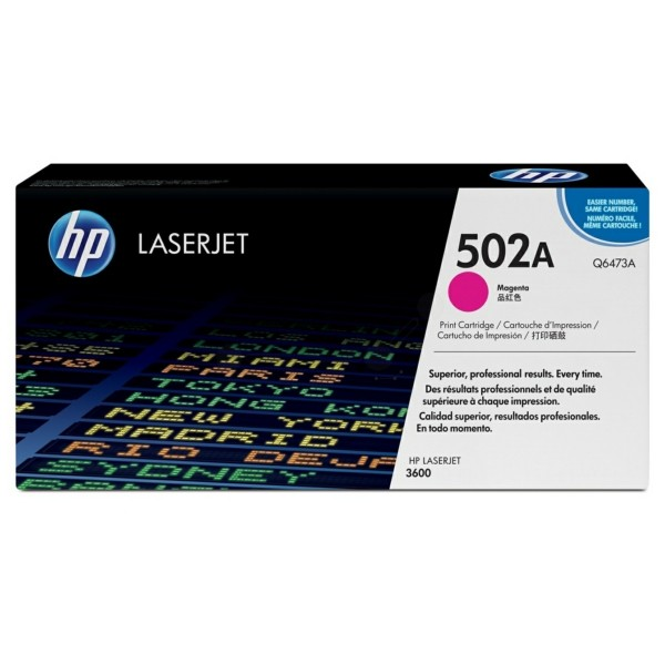 Original HP Q6473A / 502A Tonerkartusche magenta 4.000 Seiten