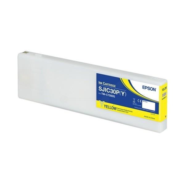 Original Epson C33S020642 / SJIC-30-P-Y Tintenpatrone gelb 294,3 ml