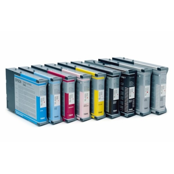 Original Epson C13T605400 / T6054 Tintenpatrone gelb 110 ml